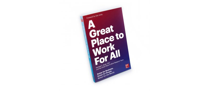 "Livre ""Great Place to Work For All"""